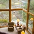 Lesena troslojna okna