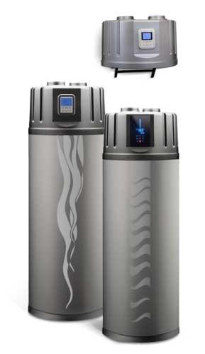 Toplotne črpalke za sanitarno vodo z vodenim zrakom
