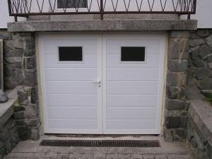 garažna vrata dimenzije