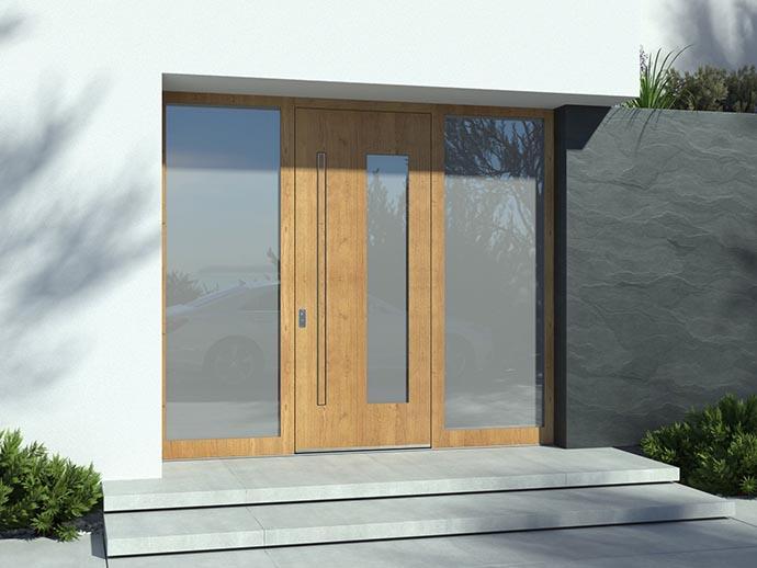 Kakovostna masivna vhodna vrata