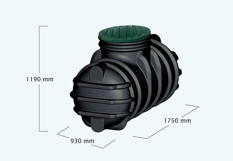 Cisterna za vodo 1000 l cena