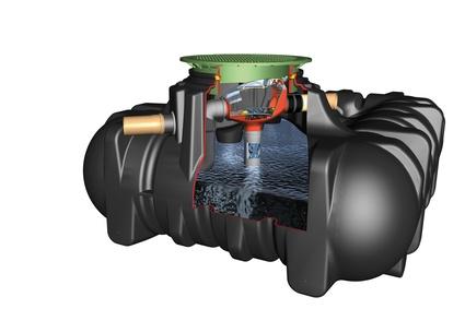 cisterna za vodo 5000 l