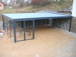 ravna streha sanacija