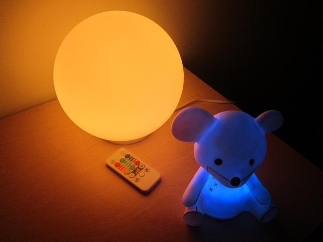 nočna lučka za otroke