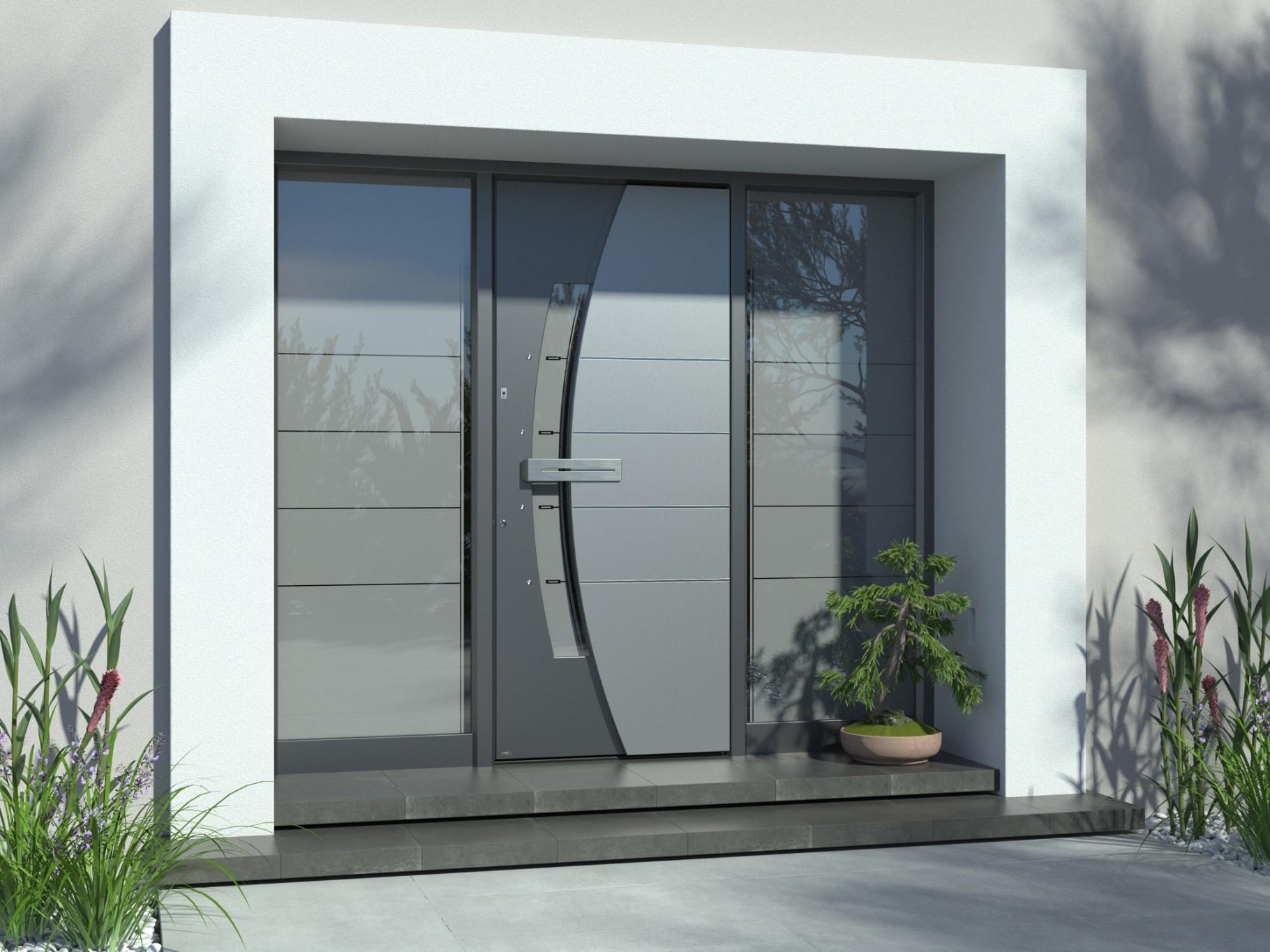 Aluminijasta vrata