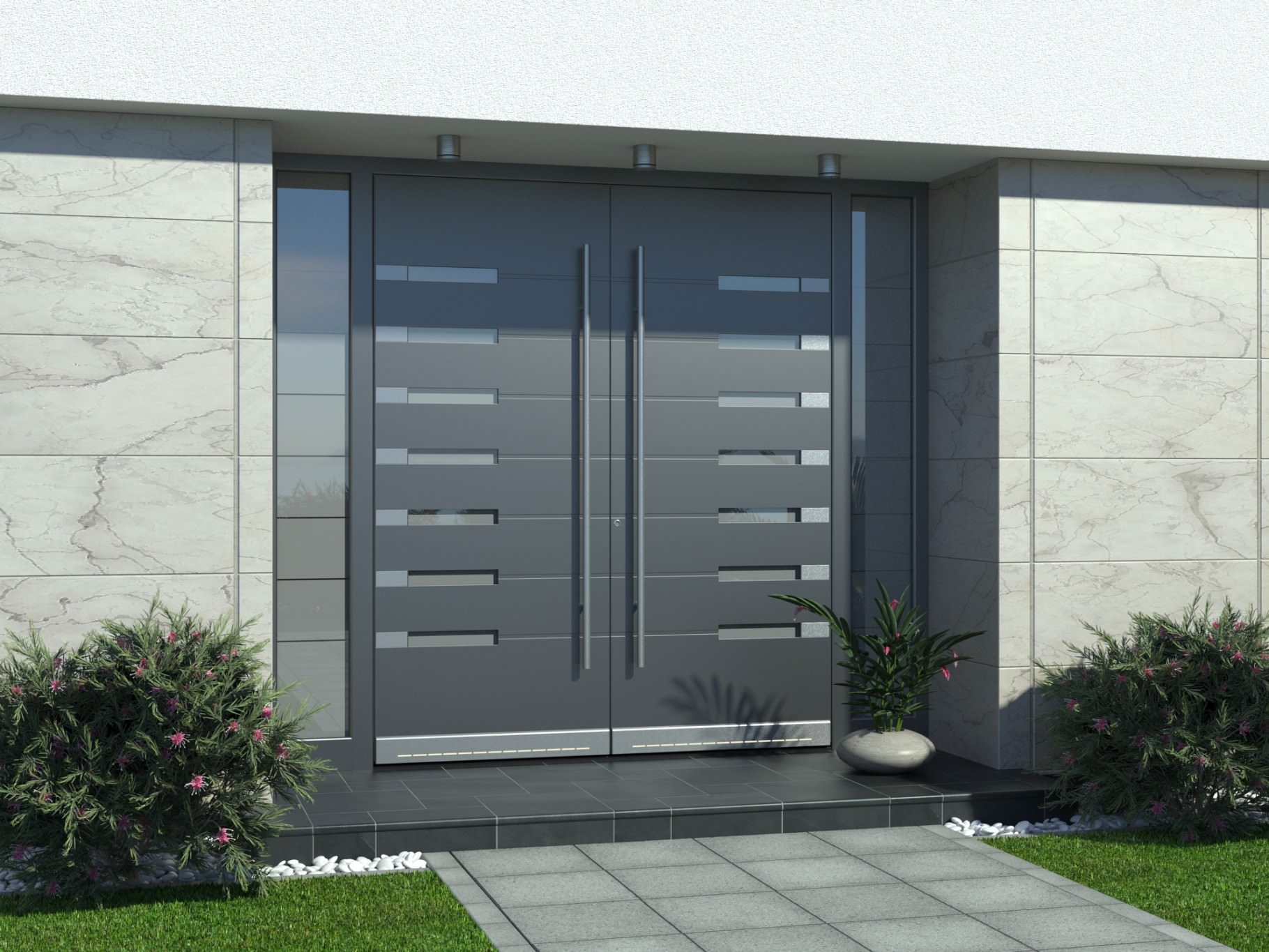 Moderna alu vrata