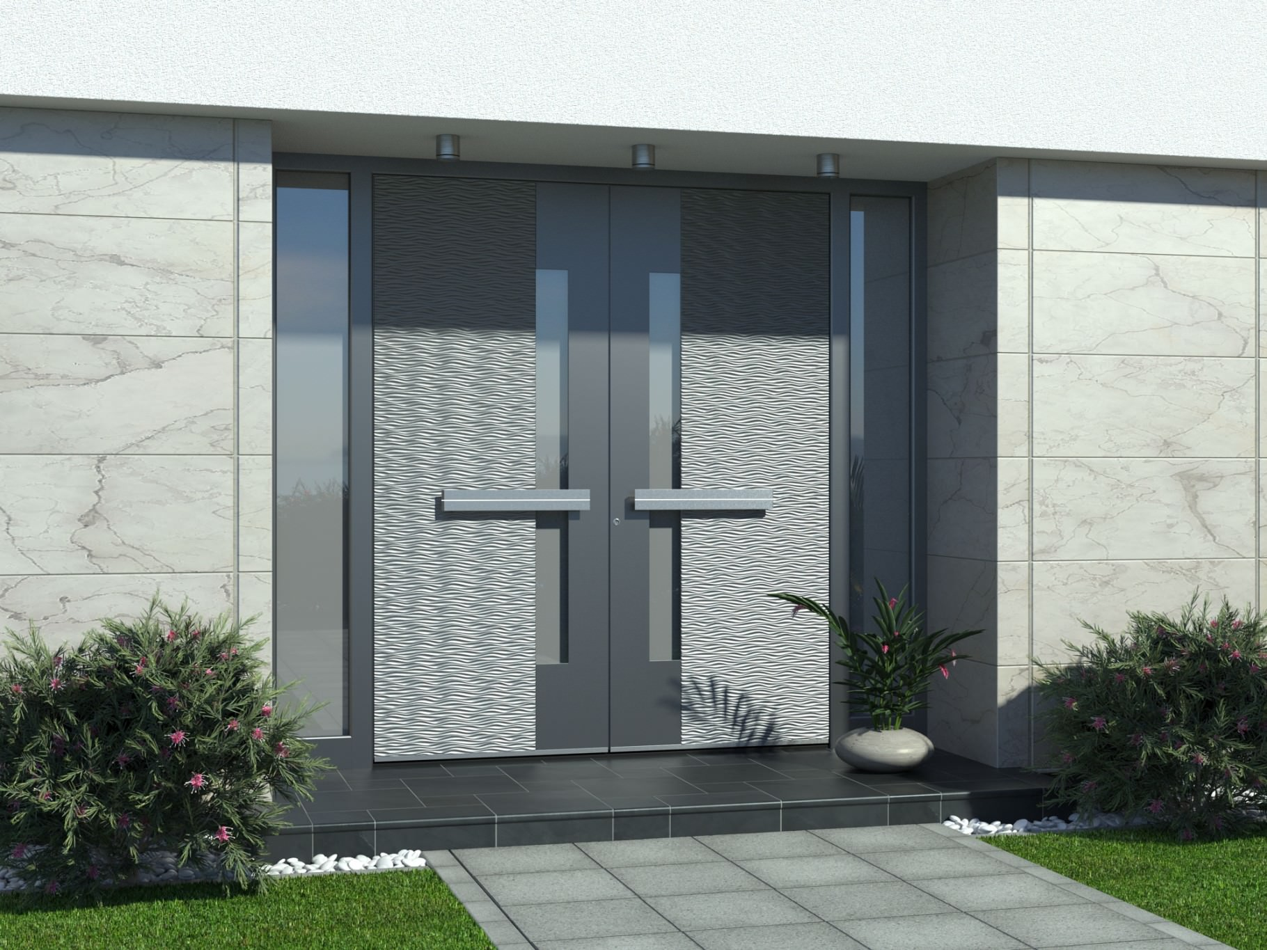 Alu moderna vrata