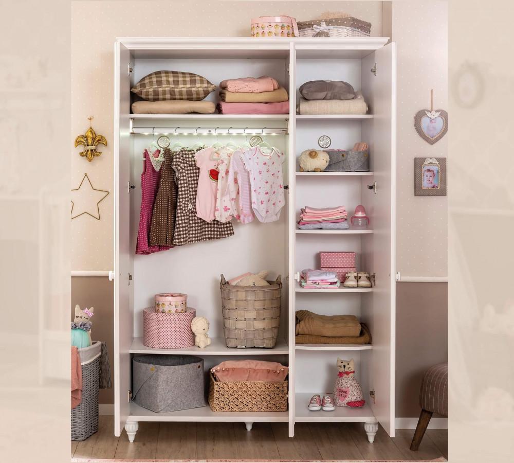 Garderobna omara za deklice