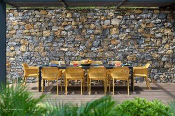 Vrtni stoli in miza - ugodno